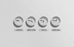 東京とバンコクは2時間の時差